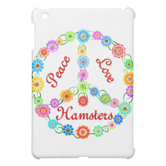 Peace Love Hamsters iPad Mini Cases
