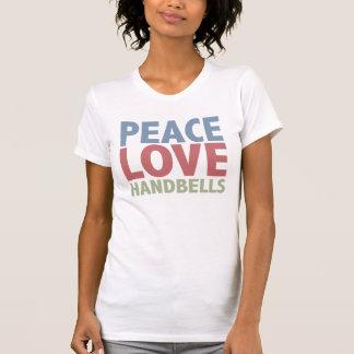 Peace Love Handbells Tshirt