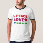 Peace Love Hang Glide T-Shirt