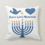 Peace Love Hanukkah Pillows