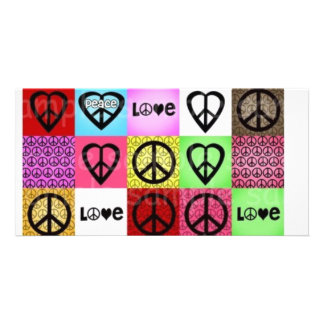 peace love happiness:) card