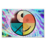 Peace, Love, Happiness, Harmony Posters