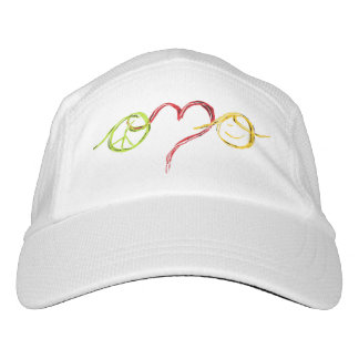 Peace Love Happiness Hat