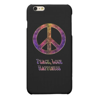 Peace Love Happiness iPhone 6 Plus Case