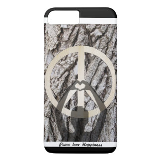 Peace love happiness iPhone 8 plus/7 plus case