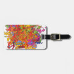 Peace, Love & Happiness Luggage Tag
