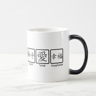 Peace, Love, & Happiness Magic Mug