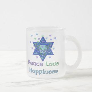 Peace Love Happiness Mugs