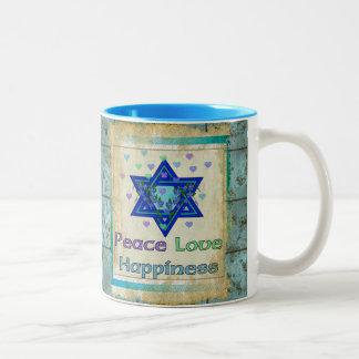 Peace Love Happiness Mug