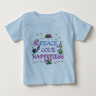 Peace Love Happiness T-shirts