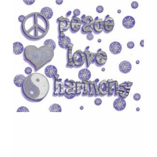 Peace, Love & Harmony