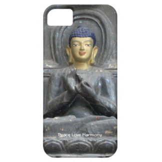 Peace Love Harmony with Buddha iPhone 5 Cases