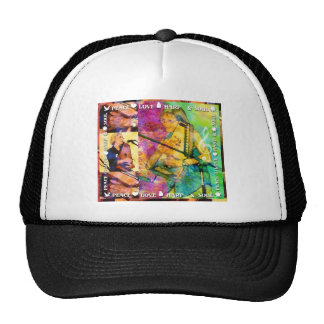 Peace, Love, Harp & Soul Trucker Hat