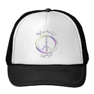 peace love trucker hats