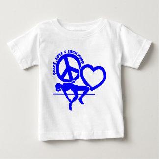 PEACE-LOVE-HIGH JUMP BABY T-Shirt