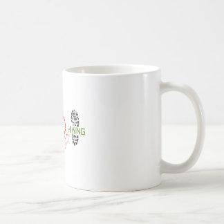 Peace Love Hiking Coffee Mug