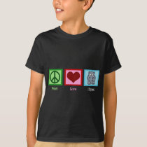 Peace Love Hippo T-Shirt