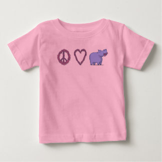 Peace, Love & Hipponess Baby T-Shirt