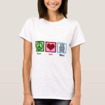 Peace Love Hippos T-Shirt