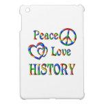 Peace Love HISTORY iPad Mini Covers