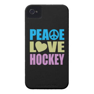 Peace Love Hockey iPhone 4 Case