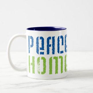 Peace Love Homeschool Mugs