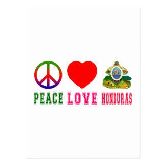 Peace Love Honduras Postcards