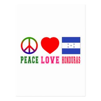 Peace Love Honduras Post Cards