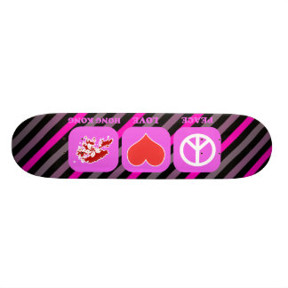Peace Love Hong Kong Skate Board Decks