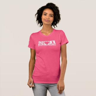 Peace Love Hope Breast Cancer Awareness Shirt