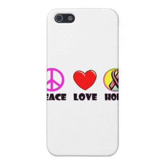 Peace Love Hope Case For iPhone SE/5/5s