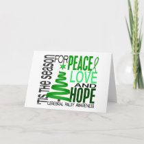 Peace Love Hope Christmas Holiday Cerebral Palsy