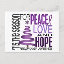 Peace Love Hope Christmas Holiday Fibromyalgia