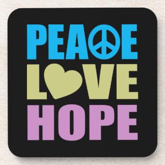 Peace Love Hope Coaster