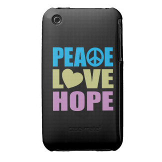 Peace Love Hope iPhone 3 Cover