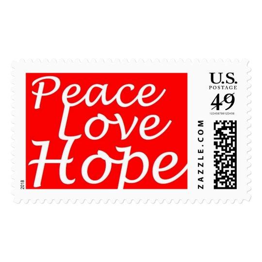 Peace, Love, Hope Springs eternal! Postage