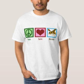 Peace Love Hornets T-Shirt