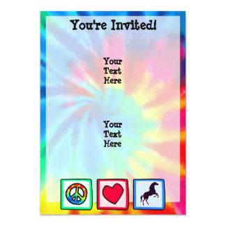 Peace, Love, Horses Card