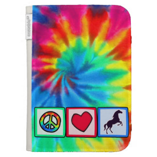 Peace, Love, Horses Cases For The Kindle
