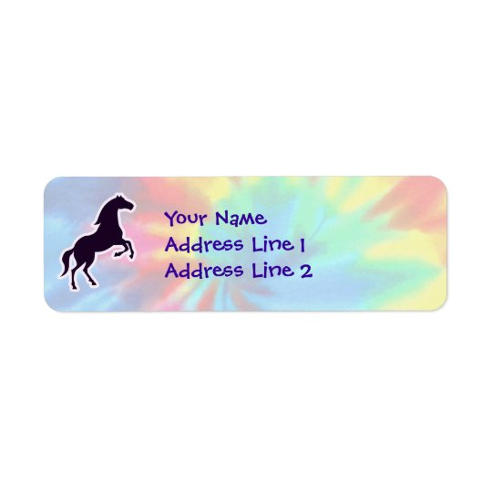Peace, Love, Horses Label