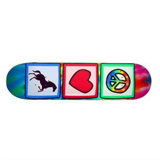 Peace, Love, Horses Skateboard