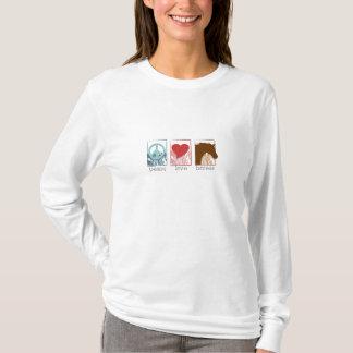 peace_love_horses T-Shirt