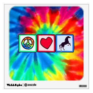 Peace, Love, Horses Wall Graphics