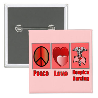 Peace Love Hospice Nursing--Gifts Button
