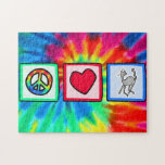 Peace, Love, Housecats Jigsaw Puzzle