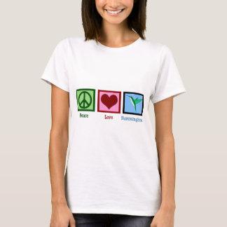 Peace Love Hummingbirds T-Shirt