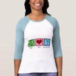 Peace Love Hummingbirds Tshirts