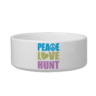 Peace Love Hunt Bowl
