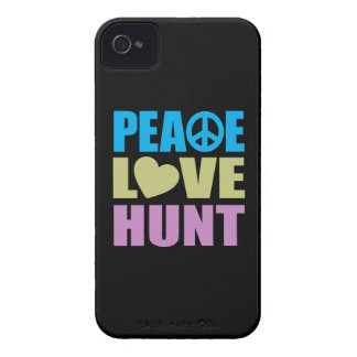 Peace Love Hunt iPhone 4 Cover