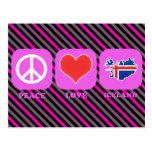 Peace Love Iceland Postcards